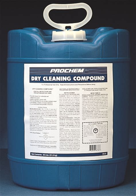 dry solvent upholstery cleaner dry cleaning compound 5 gal