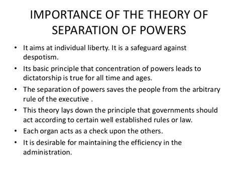 separation of powers act related keywords separation of