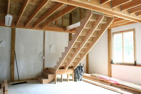 How To Build Interior Stairs With A Landing by Building Stairs With A Landing Newsonair Org