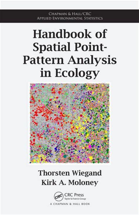 point pattern analysis exle handbook of spatial point pattern analysis in ecology