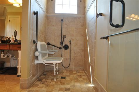 wheelchair accessible bathroom design traditional bathroom