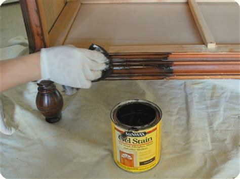 Before And After Basics Staining Tips Design Sponge