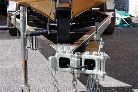 swing away boat trailer tongue how to install a folding swing tongue trailering