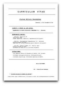 modelos de curriculum vitae para completar el rincon vago formulario modelo para curriculum vitae modelo b 225 sico