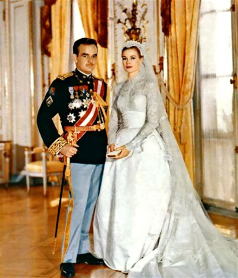 april 19th 1956 wedding of grace kelly and prince rainier