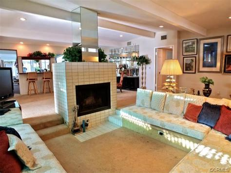 Definition Sunken Living Room Eichler Or Likeler Iconic Post And Beam Homes Socal
