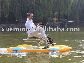 bicycle paddle boat xueming water bikes paddle boat pedal bike buy water