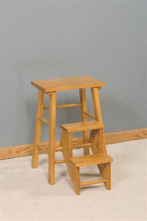 Wood Kitchen Stool by Woodworking Plans Wooden Kitchen Step Stool Chair Pdf Plans