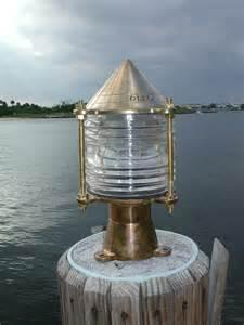 key west nautical bronze piling nautical dock light
