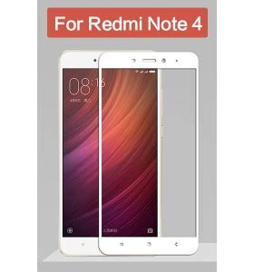 Redmi Note 5 A Tempered Glass Color White Cover redmi note 4 cover protection tempered glass screen