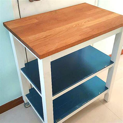 kitchen island trolleys ikea stenstorp kitchen island trolley nazarm