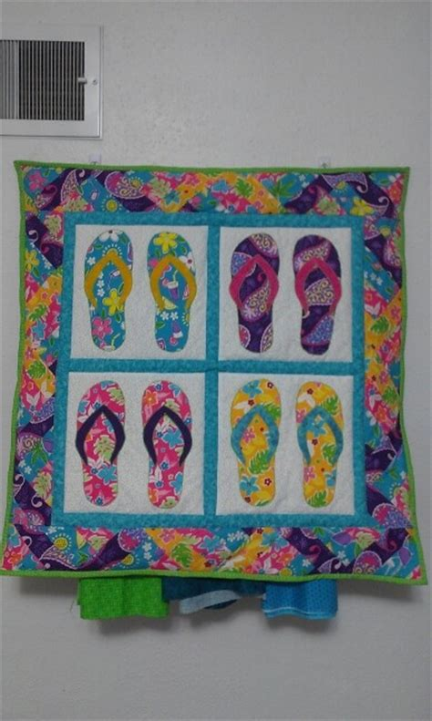 Flip Flop Quilt Bedding by 17 Best Images About Quilts Flip Flops On