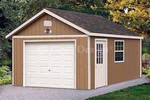 12 X16 Shed by 12 X 16 Car Garage Shed Project Plans Design 51216