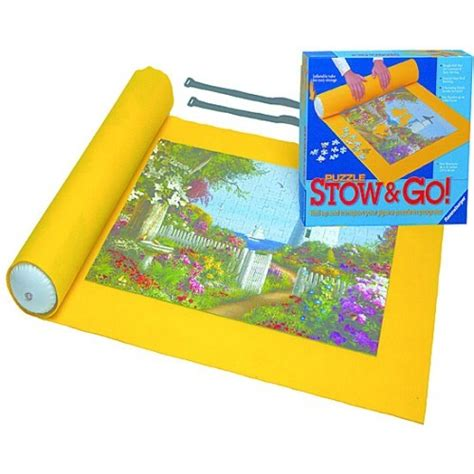 Puzzle Go puzzle stow go felt puzzle rolling holder educational toys planet