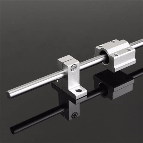 sede legale linear 200 600 800mm x 8mm linear rail shaft rod with bearing