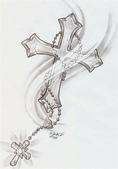 cross tattoo drawing cross designs