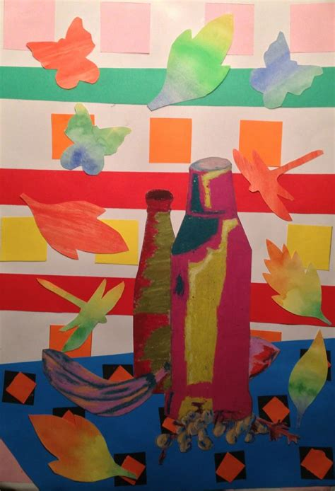 painting on y8 y8 fauvism project st s catholic high school y8