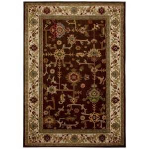 home depot area rugs 8 x 10 mohawk home taba brown 8 ft x 10 ft area rug 313685