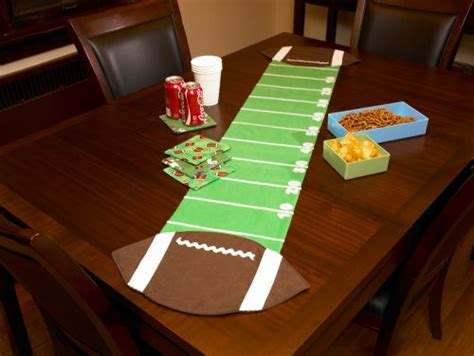 football table runner totally stitchin