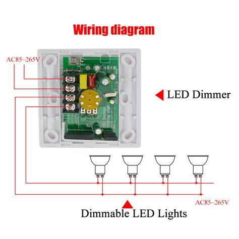 Aliexpress Com Buy 200w White Led Dimmer Ir Knob Switch Dimmer Switch For Led Light Bulbs