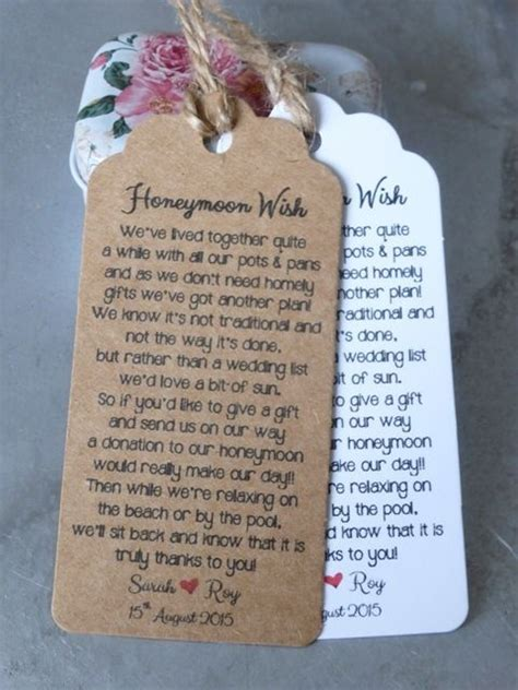 Bridal Shower Money Gift Poems by 17 Best Ideas About Wedding Gift Poem On
