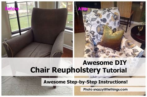 re upholstery diy awesome diy chair reupholstery tutorial