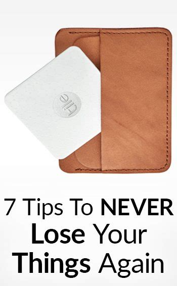 Personal Finance Advice Wallets Free Stuff Forum by 7 Tips To Avoid Losing Your Things How To Make Sure You