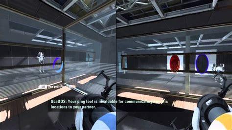 Co Op Ps3 by Portal 2 Co Op Walkthrough Part 1 1080p Hd Pc Ps3