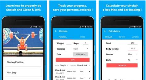 weightlifting app android the 8 best weightlifting app for android 2017 free health apps