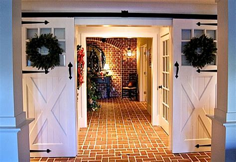 barn doors in house sliding barn doors lower entry hooked on houses