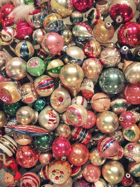 best 25 vintage christmas balls ideas on pinterest