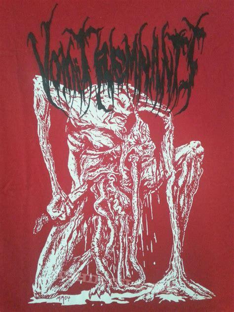 Ls Vomit vomit remnants mike majewski ls shirt tshirtslayer