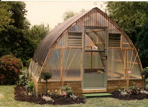 gothic greenhouse plans