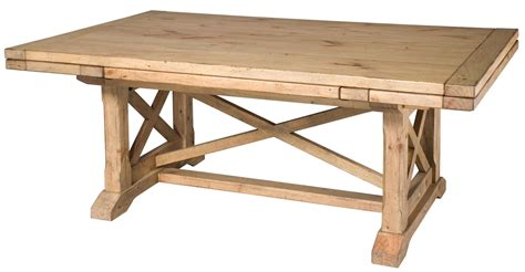 extendable trestle dining table homecoming vintage pine refectory extendable trestle