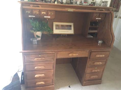 Oak Computer Desks For Sale Antique Oak Roll Top Desk For Sale Classifieds