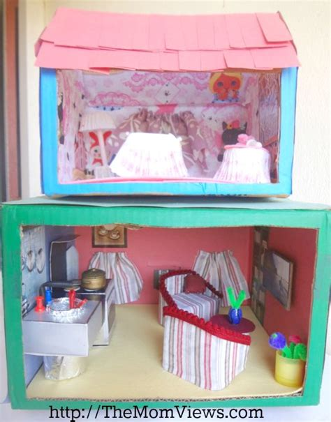dolls house materials diy cardboard recycled materials and dolls on pinterest