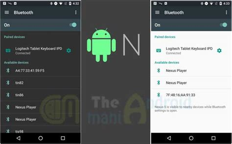 android update names android n leaked navigation drawer update the android mania