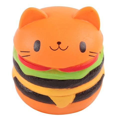 Squishy Burger Jumbo jumbo squishy cat burger kol kid