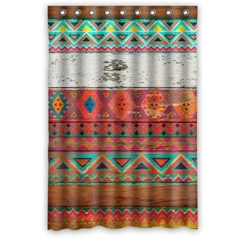 aztec print shower curtain 17 best ideas about aztec decor on pinterest aztec
