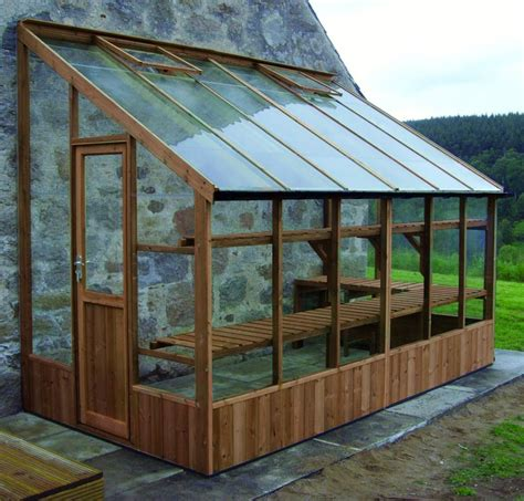 6x12 Shed 6x12 Lean To Dove South West Greenhouses