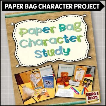 character book report paper bag character study book report by runde s room tpt