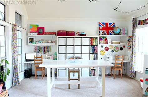 room crafts craft room reveal taylormade
