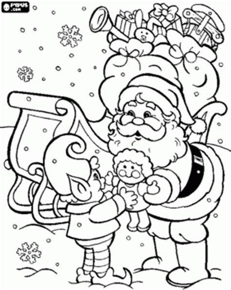 coloring pictures of santa and elves santa clause and elf coloring page 2 weeks before