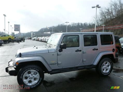 jeep sahara silver 2013 jeep wrangler unlimited sahara 4x4 in billet silver
