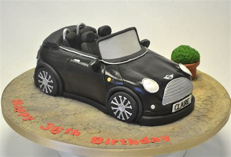 mini cooper car convertible mini cooper car cake birthday cakes