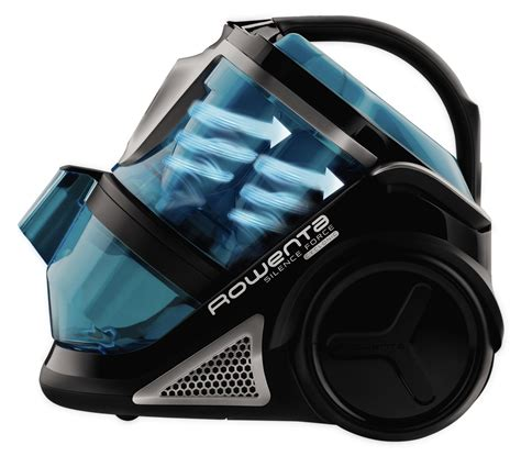 rowenta ro8231u1 silence multi cyclonic bagless canister vacuum ca home