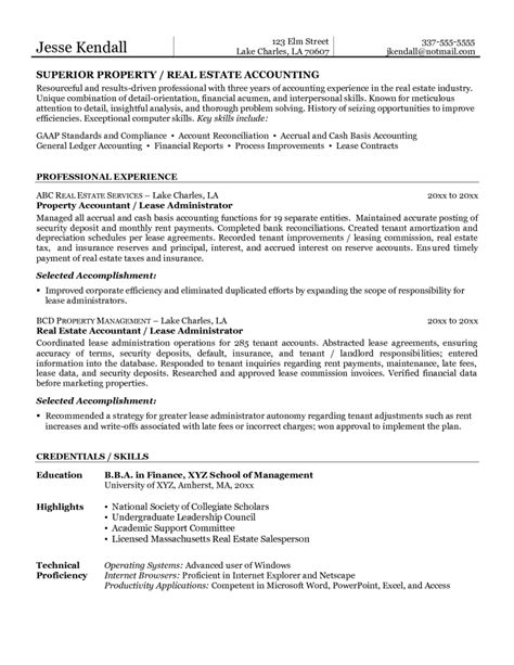 General Ledger Accountant Resume Sle 28 Images General