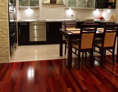 Kitchen Cabinets Red And White by Brazilian Cherry Flooring Basics And Buyers Guide