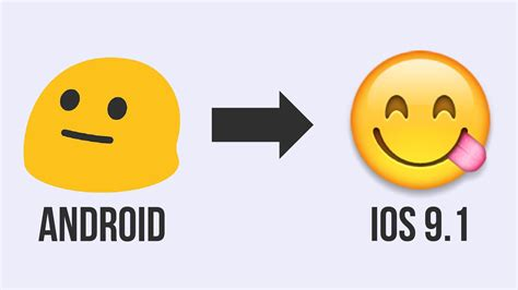 Change Android Emoji To Ios 9 1 No Skin No Keyboard