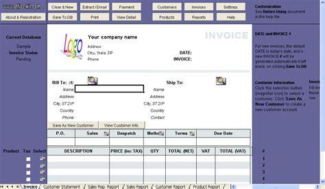 tax invoice format in excel vat forum